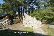 Außendusche Saunagarten
